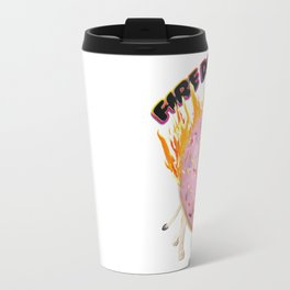 Fire Donut Lion Travel Mug