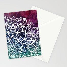 Mandala Free Spirit Spiritual Zen Bohemian Hippie Yoga Mantra Meditation Stationery Cards