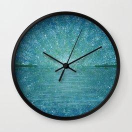 Sunburst Wall Clock