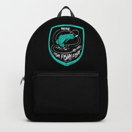 Here, Fishy Fishy Fishy | Fishing Backpack