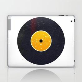 Vinyl Record Star Sign Art | Leo Laptop & iPad Skin