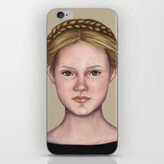 Blonde maiden iPhone & iPod Skin