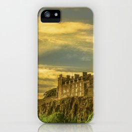 Stirling Castle at Dusk iPhone Case