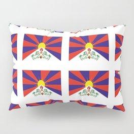 flag of thibet,བོད,tibetan,asia,china,Autonomous Region,everest,himalaya,buddhism,dalai lama Pillow Sham