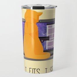 If I Fits, I Sits Travel Mug