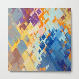 Abstract Composition 674 Metal Print