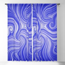 Electric Field Art LVII Blackout Curtain