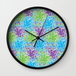 Just Swirls Wall Clock