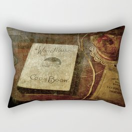 White House Cookbook Rectangular Pillow
