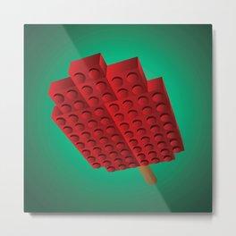 Plastic Brick Popsicle Metal Print