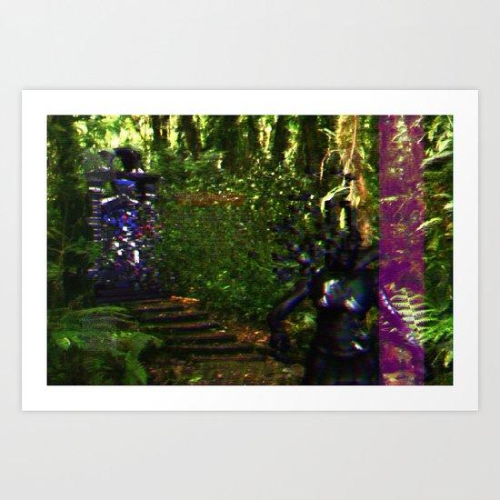 SNDR_MSG_RCVR Art Print