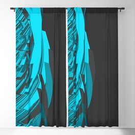 Weird Abstraction Blackout Curtain