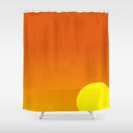 Tropical Sunset #101 Shower Curtain