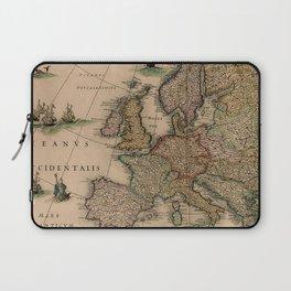 Antique Map Design Laptop Sleeve