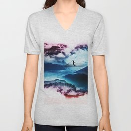 End of isolation Unisex V-Neck