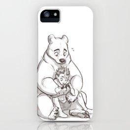 IRL teddybear iPhone Case