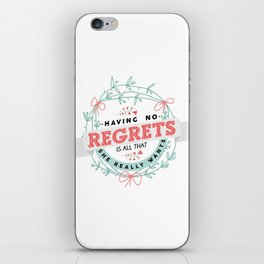Night Changes iPhone Skin