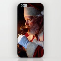 A Glass Of Cheer iPhone & iPod Skin