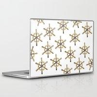 nautical Laptop & iPad Skins featuring Nautical by kristinesarleyart