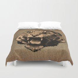 Vintage Tiger Duvet Cover