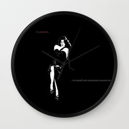 #2: POISON Wall Clock