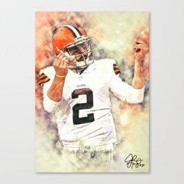 Johnny Manziel Canvas Print