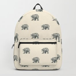 Brown Bear Graphite Study Backpack