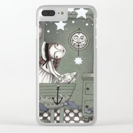 When it's Night Outside Clear iPhone Case