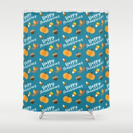 Happy Thanksgiviing Shower Curtain