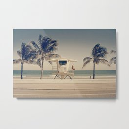 Sunny South Metal Print