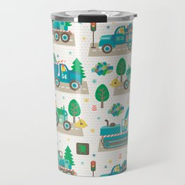 Truck monsters Travel Mug