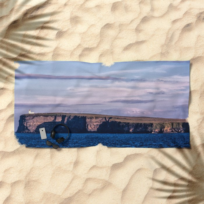 Duncansby Head Scotland Beach Towel