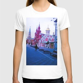 The color of the infrastructure of this city. T-shirt