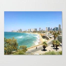 Tel Aviv from Jaffa Port, Israel Canvas Print