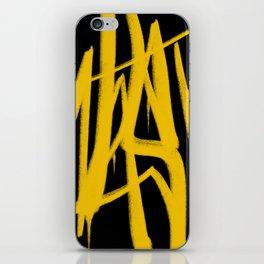 Graffiti Tag iPhone Skin