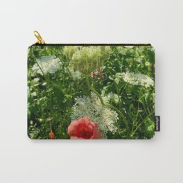 Wild Blooms Carry-All Pouch
