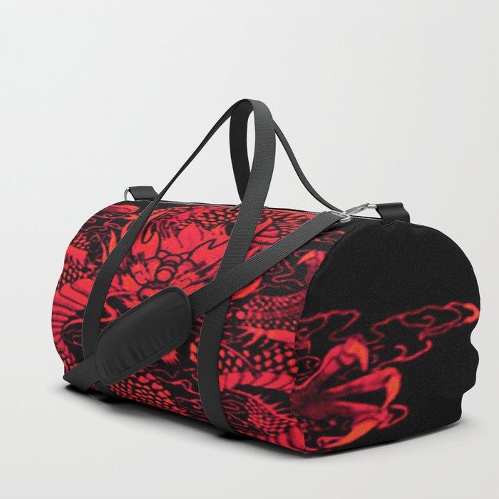Epic Dragon Red Duffle Bag