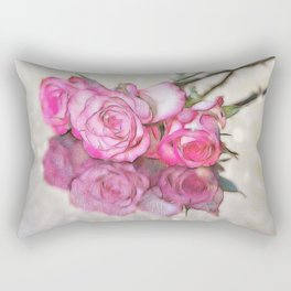 Reflected Beauty Rectangular Pillow