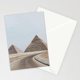 Pyramids of Giza Stationery Cards