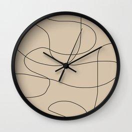 Abstract Shapes VI Wall Clock