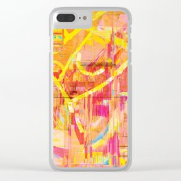 Writing on The Wall 02 Clear iPhone Case