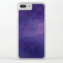 Far Far Away Clear iPhone Case