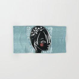Girl Hand & Bath Towel