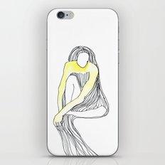 yellow dress iPhone & iPod Skin