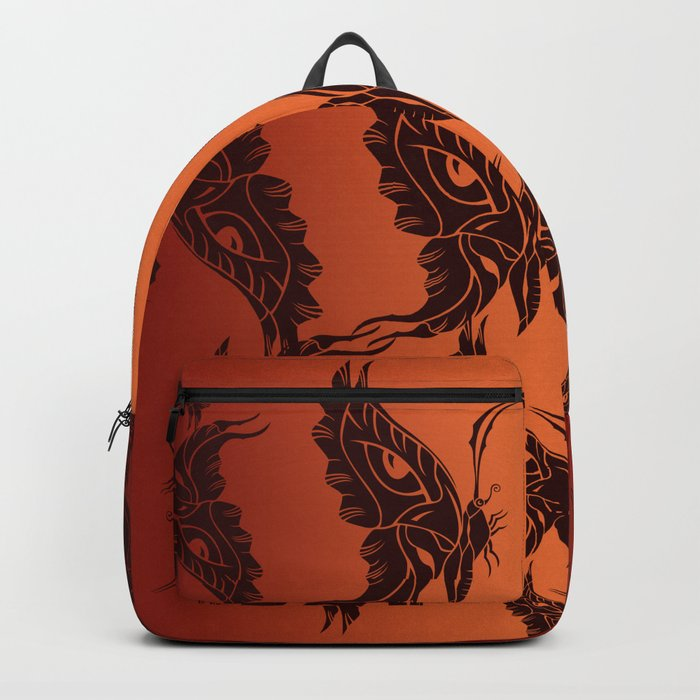 Butterfly Masks Tribal Backpack