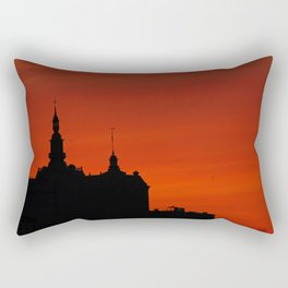 Red Sky Rectangular Pillow