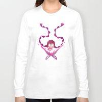 dangan ronpa Long Sleeve T-shirts featuring Genocide Jill by Rebekah Holder