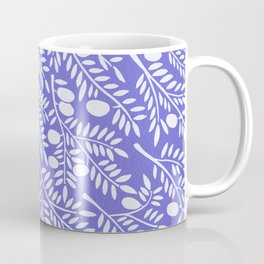 Olive Branches – Periwinkle Coffee Mug