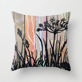 Paint your own garden Throw Pillow