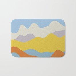Over The Sunset Mountains V Bath Mat